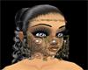 Face veil gold