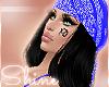 Bandana + Hair Black