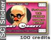 [SC] *100* Promo Sticker