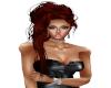 Hair Red Elegant