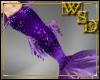 Merman Purple Tail