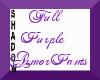 {SP} Purple Armor Pants2