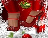 RED CHRISTMAS SHOES