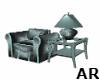 *AR* End Table / Lamp