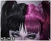 Pink Goth Doll Hair