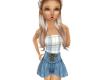 Girls Flat Country Dress