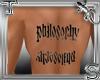 T||Ambigramm Tattoo