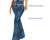 flare pants with belt