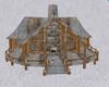Winter Log Cabin