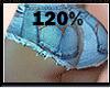 120% BUTT & HIP SCALER
