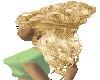 [KD69]Female Hair Blonde