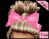 lil heartbreak bow pink
