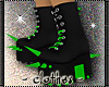 clothes - spike boots
