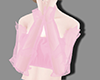 Pink tulle top