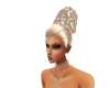 Ivys Blond Bling Updo