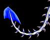 White/Blue Tail