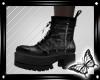!! Black Combat Boot