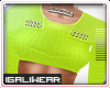 ►Lime Cropped .Top