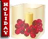 Christmas Candle Vase