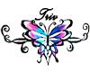 Triv butterfly tattoo
