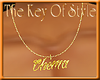 [Key] Chema Necklace