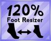 Foot Scaler 120%