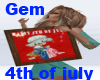 [g] kiss 4th of july
