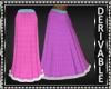 Fur Trimmed Skirt Mesh