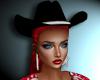 Hat Hair Sinsual Red