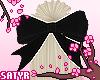 Kawaii Hair Bow Black