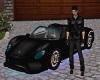 Black Ferrari 488 Spider