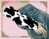 A: Cow arm warmers
