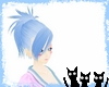Kawaii Blue Hair