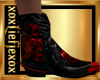 [L] Bloody SKULL Boots M