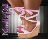 {MD}BbyDoll Wedge Pink