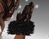 FG~ Black Lacey Fur