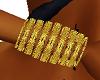 GoldBangles & earrings