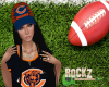 Bears Hat black Hair