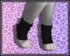 𝓚 Black Paw Socks