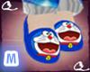 *Q* Doraemon Slippers(M)