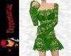 Dawn Crochet Dress GREEN