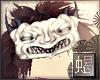 'S|| Oni Mask white