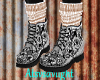 Tatooed Boots Rose