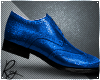 Blue Holiday Dress Shoes