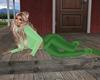 Green Turtleneck & Pants