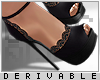 0 | Lace Heels
