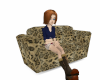 Leopard Skin Sofa