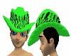 Green Pimpin Hat