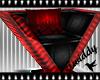 Dark Rouge Modern Chair