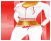 ~J~ Red n white hoodie